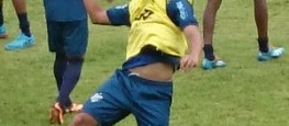 Bruno Arrabal pode ganhar posição de Noé contra o Cruzeiro (Foto: Bruno Ribeiro)