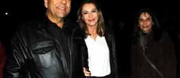 O empresário e ex-prefeito Carlos Alberto Pereira e sua esposa, a Dep.Dâmina fizeram questão de prestigiar o evento